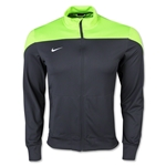Nike Squad 14 Sideline Knit Jacket (Gray/Green)