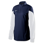 Nike Women's Long Sleeve Squad 14 Midlayer (Navy)