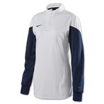 Nike Women's Long Sleeve Squad 14 Midlayer (White)