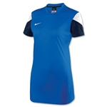 Nike Women's Squad 14 Training Top (Roy/Wht)