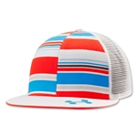 Under Amour Lax Flat Brim Trucker Cap (White)