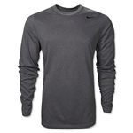 Nike Youth Legend Long Sleeve T-Shirt (Dk Grey)