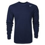 Nike Youth Legend Long Sleeve T-Shirt (Navy)