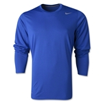 Nike Youth Legend Long Sleeve T-Shirt (Royal)