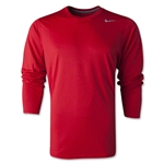 Nike Youth Legend Long Sleeve T-Shirt (Red)