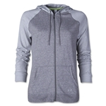 Under Armour Charged Cotton Legacy Full-Zip Hoody (White/Gray)
