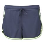 Under Armour Women's Rally Short (Gray/Yellow)
