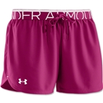 Under Armour Women's Play Up Short (Pur/Wht)