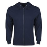 Full Zip Hooded Fleece (Navy)