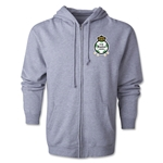 Santos Laguna Distressed Full Zip Hooded Fleece (Gray)