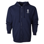 2014 FIFA World Cup Brazil(TM) Men's Official Emblem Full Zip Hoody (Navy)