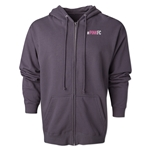 Pink FC Full Zip Fleece (Dark Gray)