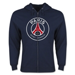Paris Saint-Germain Full Zip Fleece (Navy)