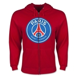 Paris Saint-Germain Full Zip Fleece (Red)