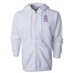 Rugby Fights Cancer Full-Zip Hooded Sweatshirt (White)