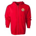 FC Santa Claus Core Full-Zip Hooded Fleece (Red)
