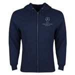 UEFA Champions League Full Zip Hooded Fleece (Navy)