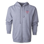 USA Sevens Rugby Full-Zip Hoody (Gray)