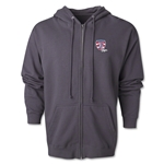 USA Sevens Vegas Rugby Full-Zip Hoody (Dark Gray)