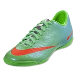 Nike Mercurial Victory IV IC (Neo Lime/Metallic Silver/Polarized Blue/Total Crimson)