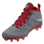 Nike Huarache 4 Limited Edition Cleat (Grey/Red)