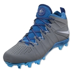 Nike Huarache 4 Limited Edition Cleat (Grey/Blue)