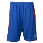 Warrior Youth Varsity Lacrosse Shorts (Roy/Orange)