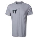 Warrior Shark 50/50 Lacrosse T-Shirt (Gray)