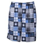 Warrior Caddy Madras Short (Sky)