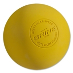 Brine NOCSAE Lacrosse Ball (Yellow)