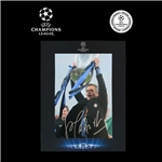 ICONS Jose Mourinho Signed Chelsea Photo Inter Milan Master in Deluxe Packaging