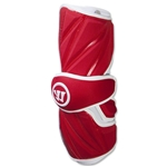 Warrior Regulator Lacrosse Arm Guards (Red)