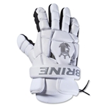 Brine King Superlight II 13 Lacrosse Gloves (White)