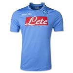 Napoli 13/14 UCL Home Soccer Jersey