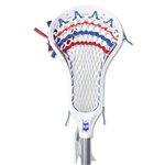Warrior Rabil Strung Pro Pocket NFHS Head (Wh/Ro)