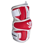 Warrior Burn Lacrosse Arm Guards (Red)