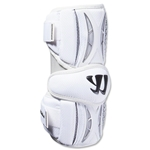 Warrior Burn Lacrosse Arm Guards (White)