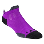 Under Armour Women's Ultra Lite Double Tab Sock (Purple)