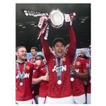 Icons Shinji Kagawa Signed Manchester United Photo