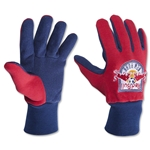 New York Red Bulls 2 Tone Gloves