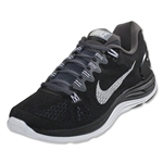 Nike Lunarglide+ 5 Running Shoe (black/dark grey/white)