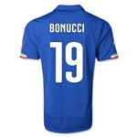 Italy 14/15 BONUCCI Home Soccer Jersey