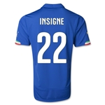 Italy 14/15 INSIGNE Home Soccer Jersey