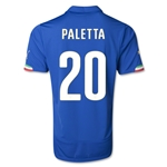 Italy 14/15 PALETTA Home Soccer Jersey