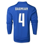 Italy 14/15 DARMIAN LS Home Soccer Jersey