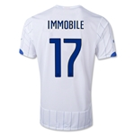 Italy 2014 IMMOBILE Away Soccer Jersey