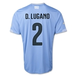 Uruguay 14/15 D. LUGANO Home Soccer Jersey