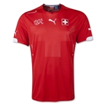 Switzerland 14/15 Home Soccer Jersey