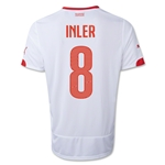Switzerland 2014 INLER Away Soccer Jersey