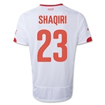 Switzerland 2014 SHAQIRI Away Soccer Jersey